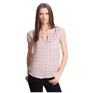 Joie • sand ryanna silk top blouse